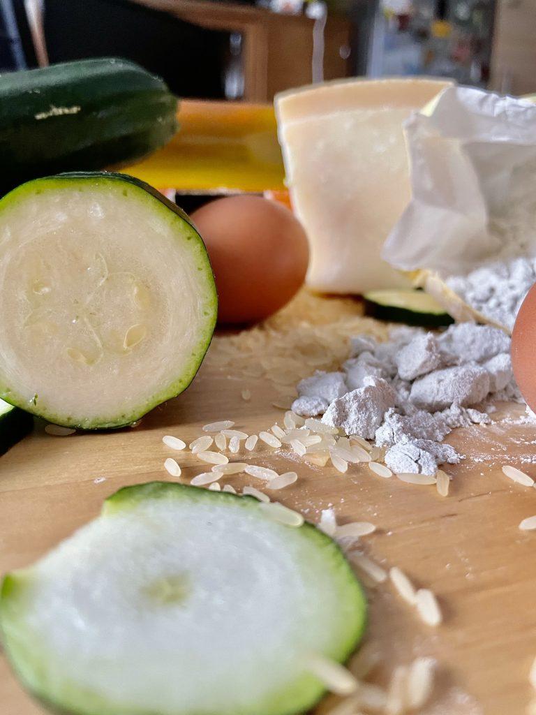 Zutaten für die Torte salata