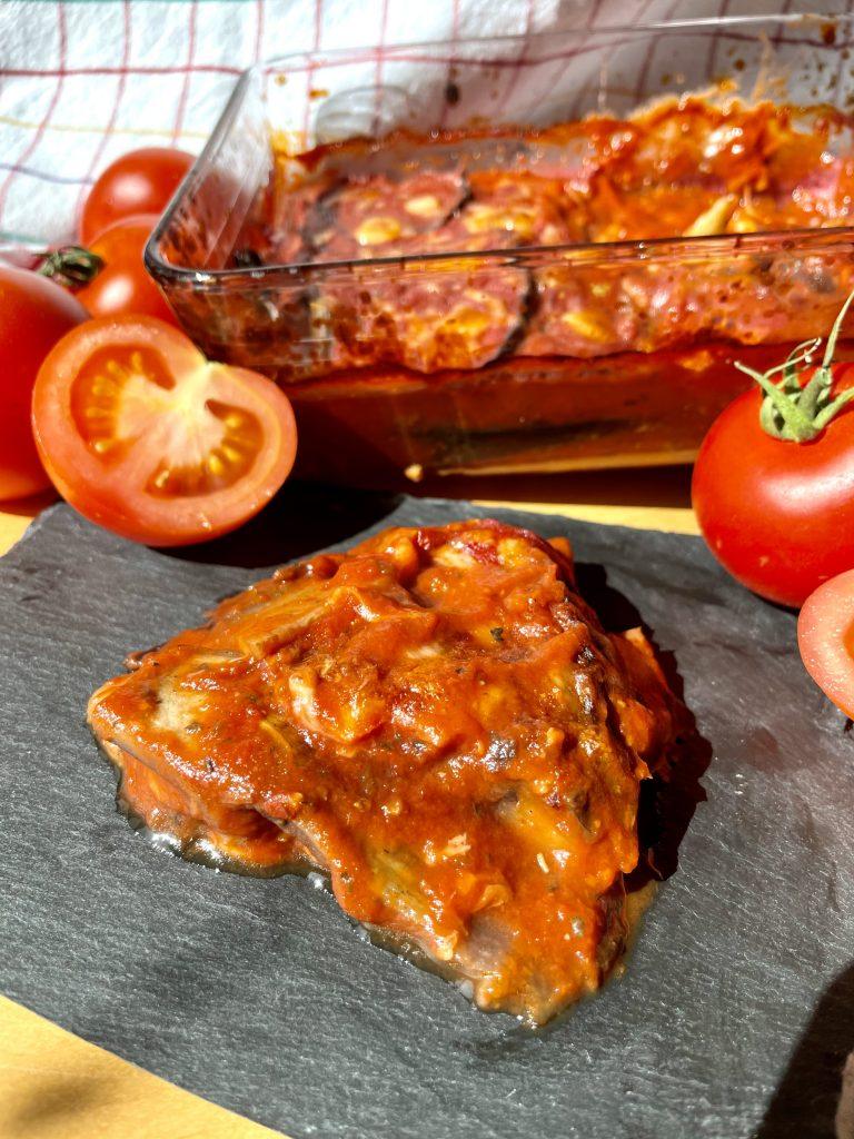 ofenfrische Parmigiana