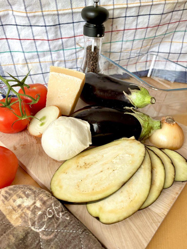 zutaten parmigiana