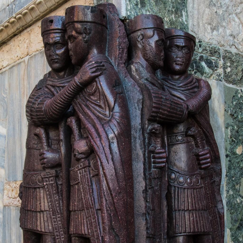 Die vier Tetrachen am Markusdom